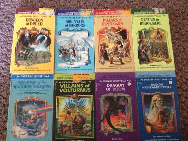 D&D Endless Quest Books